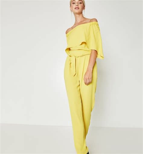 womens yellow jumpsuit jumpsuit yellow clothing
