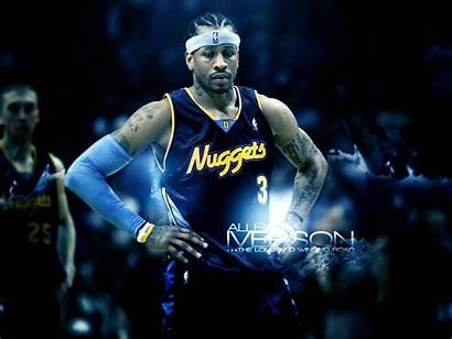 Iverson Allen Nba Wallpapers Basketball Nuggets Denver