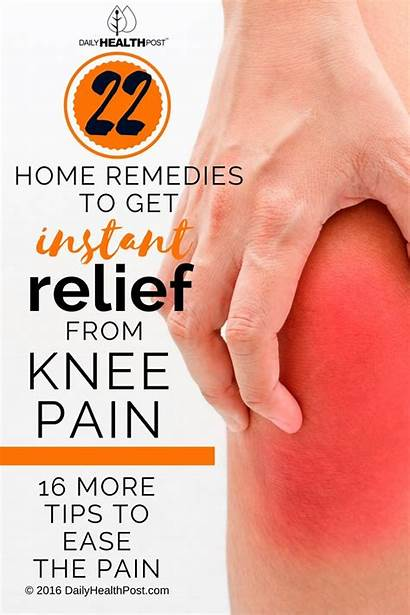 Knee Pain Remedies Relief Arthritis Joint Ease