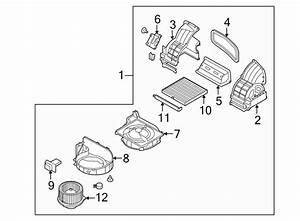 2012 Kia Cover  Filter  Air  Assembly
