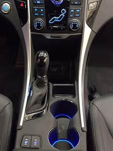 Hyundai Sonata Custom Led Cup Holder Lights