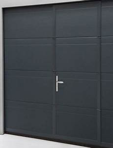 Porte garage sectionnelle la toulousaine sur mesure et for Porte de garage enroulable et porte a petit carreaux