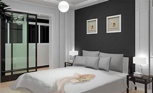 peindre une chambre en gris et blanc kirafes With peindre une chambre en gris et blanc