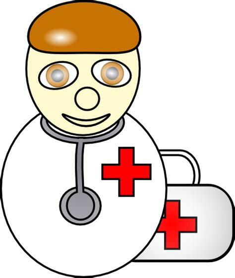 Clipart Doctor Doctor 3 Clip At Clker Vector Clip