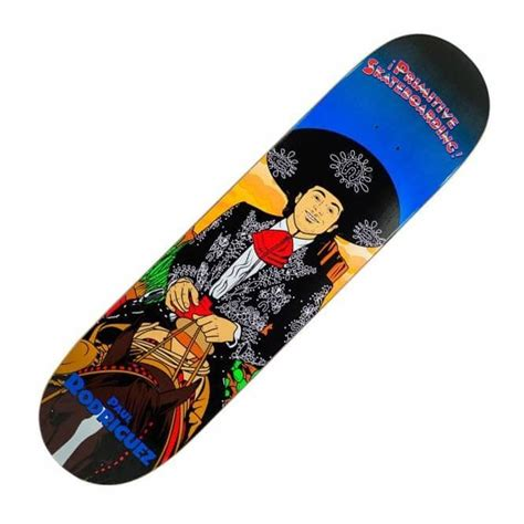Primitive Skateboard Decks Uk by Primitive Skateboarding Paul Rodriguez Amigos Skateboard