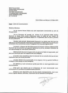 Modele De Lettre De Relance : lettre de recommandation relance document online ~ Gottalentnigeria.com Avis de Voitures