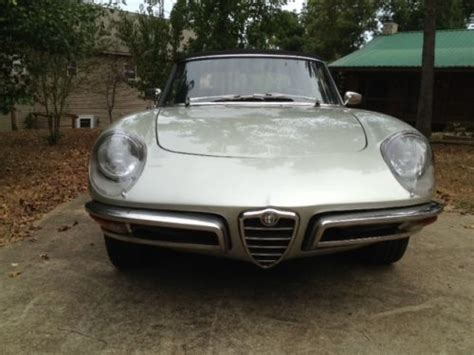 purchase   alfa romeo duetto spider   river