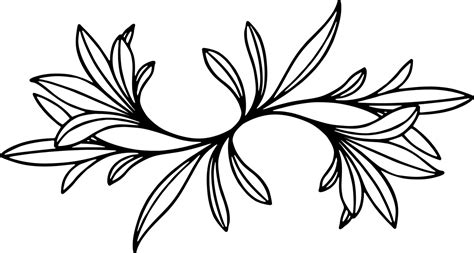 art drawing floral design leaf daybed cc symmetry