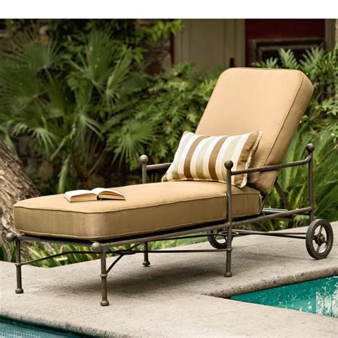 hacienda chaise lounge by woodard landgrave family leisure