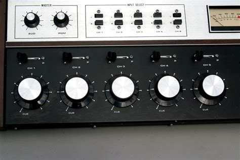 Spotmaster Broadcast Mixing Console From Fm Radio Station