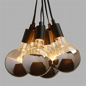 Chrome-Tip 6-Bulb Cluster Pendant Lamp World Market