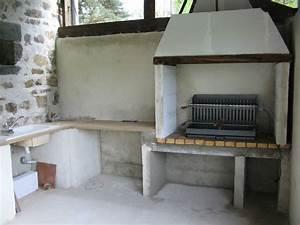 Cuisine d ete beton cellulaire for Cuisine d ete en beton cellulaire