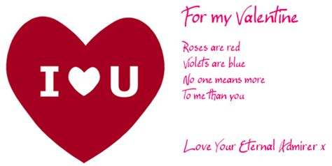 top  messages   valentines day card