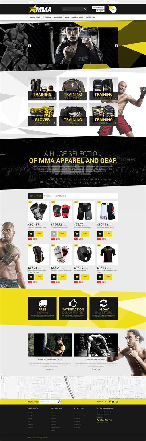 la mejor tienda template drupal tema de prestashop 52663 para sitio de tienda de deportes