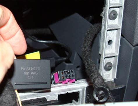 passenger airbag light vwvortex how to get rid of the annoying