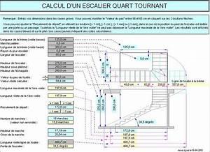 Calcul Escalier Quart Tournant : les 25 meilleures id es de la cat gorie calcul escalier ~ Dailycaller-alerts.com Idées de Décoration
