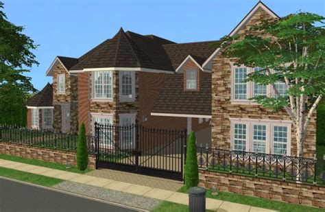 Mod The Sims  5 Bedroom Luxury Family Home