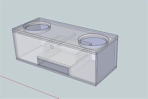 custom subwoofer box design design you a custom subwoofer enclosure fiverr