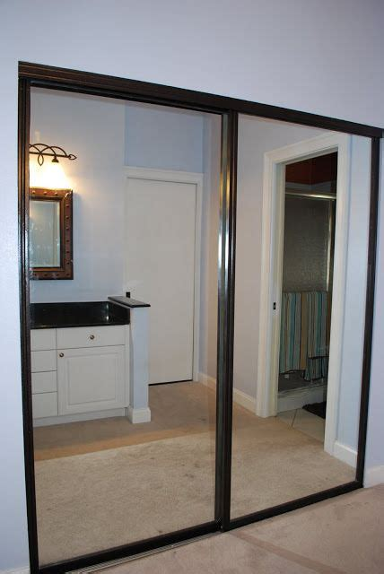 Ideas For Mirrored Closet Doors by 17 Best Ideas About Mirrored Closet Doors On