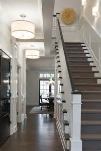 foyer with drum pendants transitional entrance foyer