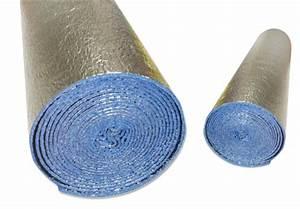 Isolant Thermique Mince Sous Carrelage : film isolation mousse aluminium ~ Edinachiropracticcenter.com Idées de Décoration