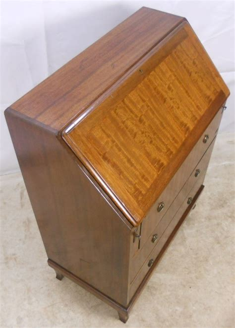 a georgian style mahogany writing bureau sold