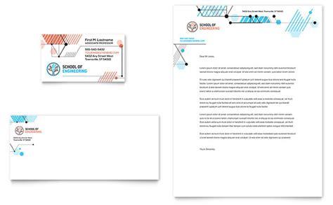 business card sheet template illustrator computer engineering business card letterhead template