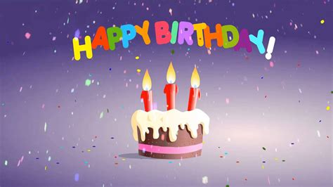 Birthday Wishes Animated Wallpaper - happy birthday images animated hd