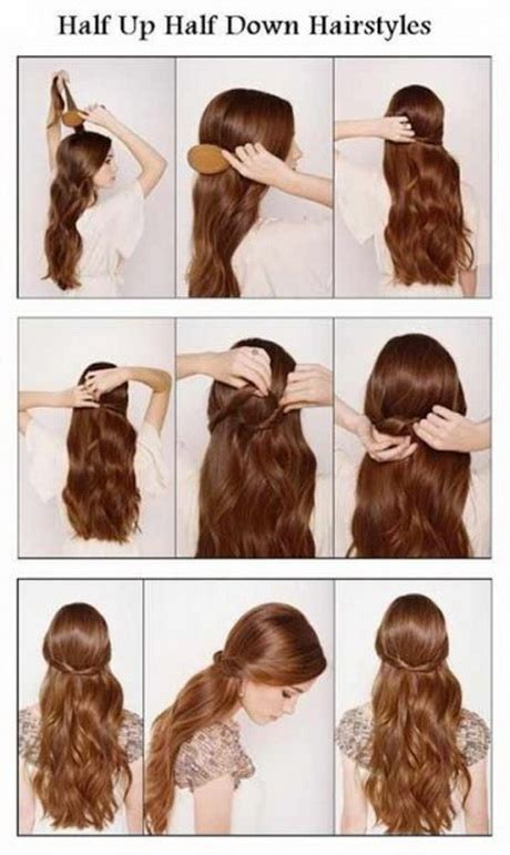 easy step  step hairstyles  long hair