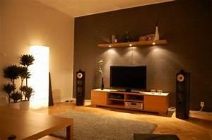 Wandfarben Brauntöne Wohnzimmer : wohnzimmer streichen 106 inspirierende ideen ~ Markanthonyermac.com Haus und Dekorationen