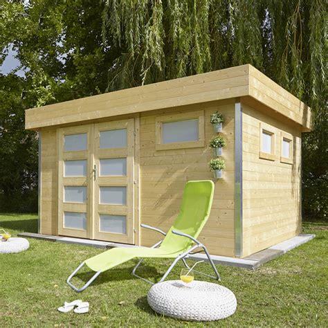 abri en bois abri de jardin bois comfy 9 99 m 178 ep 28 mm leroy merlin