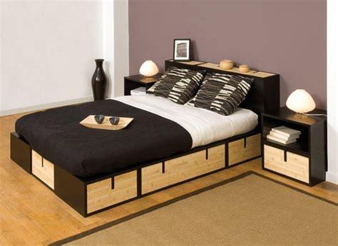 canapé gain de place convertible espace loggia lit mezzanine podium brick bambou ferme sofa