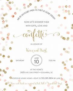 bridal shower invitation wording ideas and etiquette With wedding shower invite wording