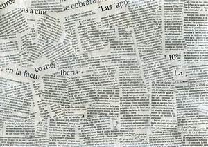 Newspaper collage texture by flordeneu on DeviantArt