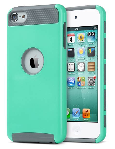 iPod Touch 6 Case,iPod Touch 5 Case,ULAK [Colorful Series
