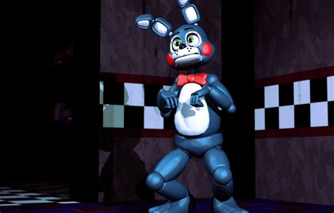 Toy Bonnie Is Definitely Planning Something Here. By