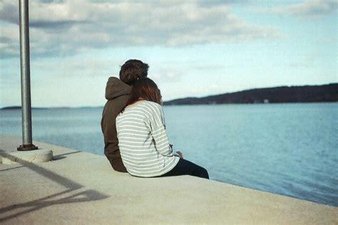 Cute Couple Beach Love Feelings Beautiful Loveimages