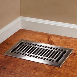 contemporary steel floor register hardware