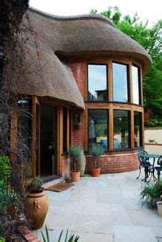 Thatched Roof House With Outdoor Entertaining Spaces by Thatch Of The Day Thatch Lapa Braai Outdoor