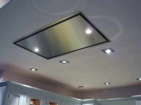 kitchen exhaust fans through wall fan with light suspended