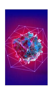 Abstract Tesseract HD wallpaper