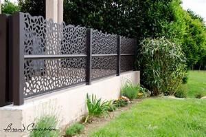 Panneau Brise Vue Aluminium : brand conception aluminium panelen rond terras ~ Melissatoandfro.com Idées de Décoration