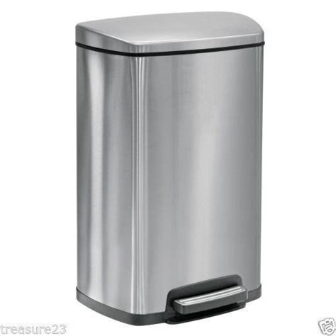 stainless steel kitchen garbage can stainless steel trash can ebay