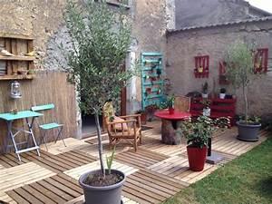 amenagement jardin terrasse With amenagement petite terrasse exterieure 10 amenagement jardin en longueur