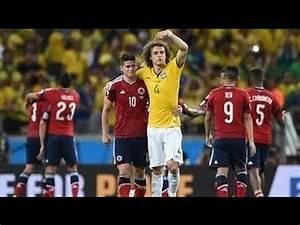 James Rodriguez & David Luiz Exchange Shirt 2014 World Cup ...