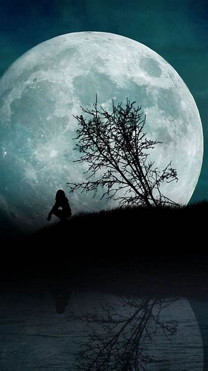 Moon Iphone Phone 720p Wallpapers Night Amazing