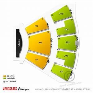 Cirque Du Soleil O Seating Chart Michael Jackson One Theatre At Mandalay Bay Seating Chart