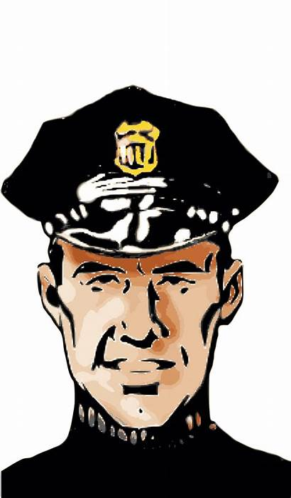 Policeman Clipart Police Sergeant Officer Correctional Colored