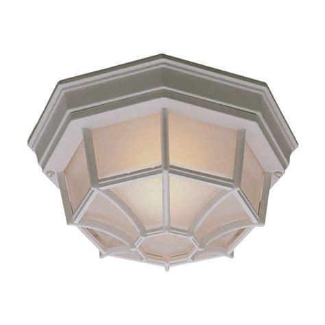 outdoor flush mount ceiling light fixtures philips outdoor essentials 1 light outdoor flush mount