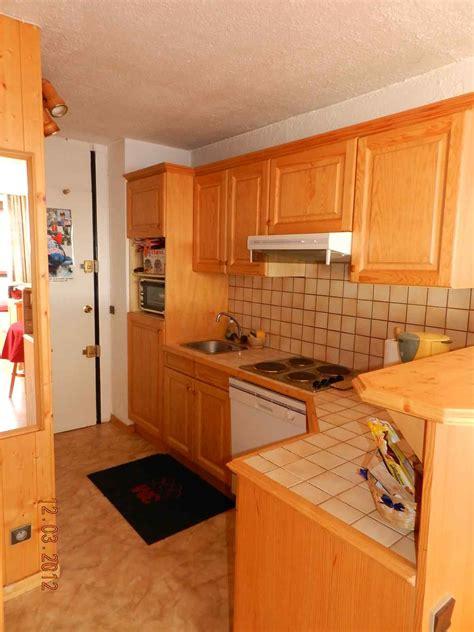 amenagement cuisine studio montagne location appartement particulier montagne la plagne savoie